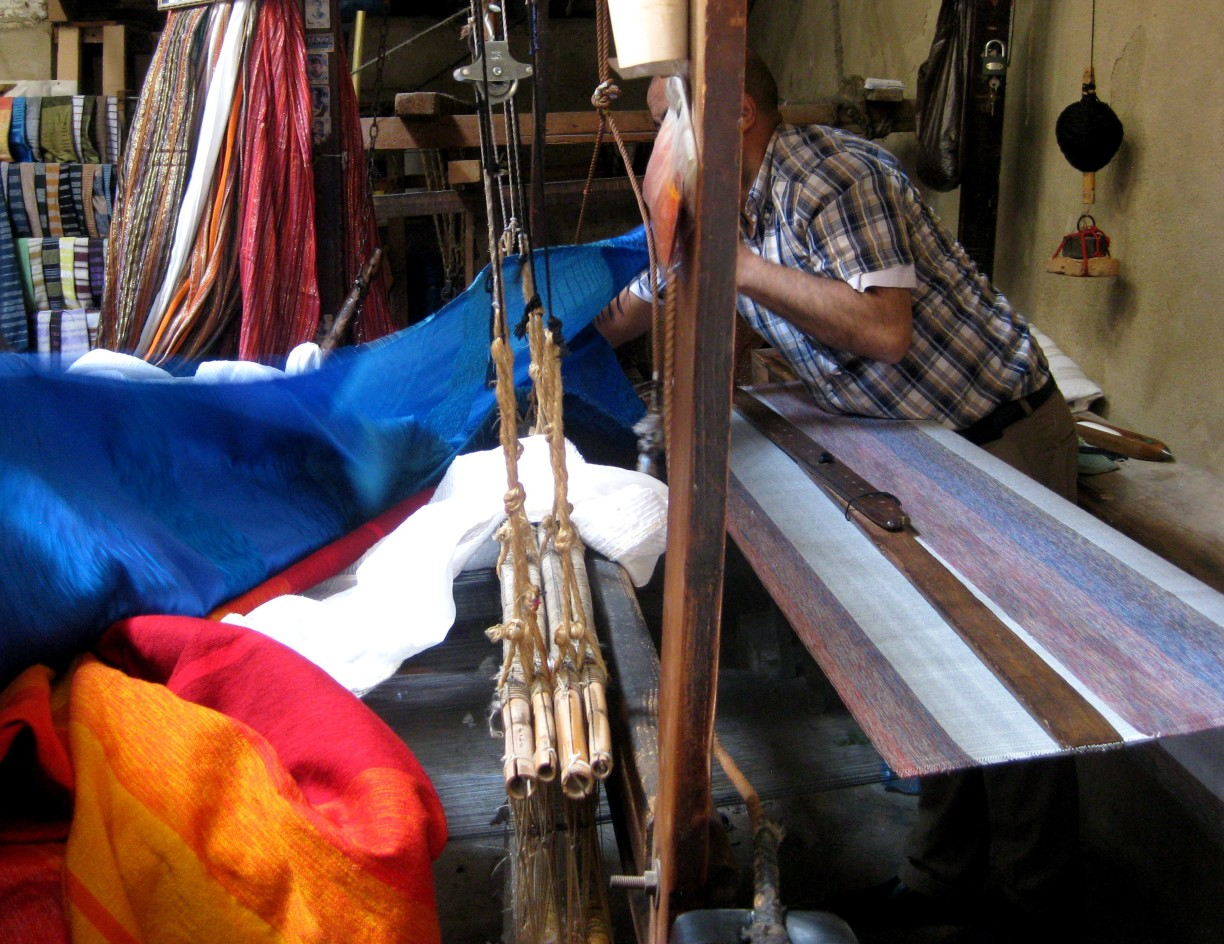 Fabric weaving