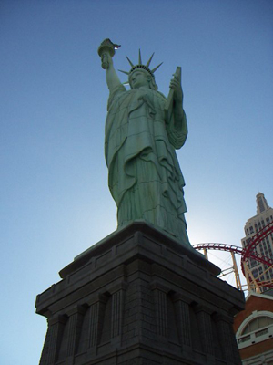 Another addition for my Statue of Liberty collection! This one's in fabulous Las Vegas
