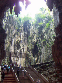 In the Batu Caves