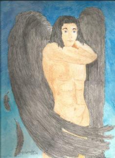 Angels fan art by Annette M