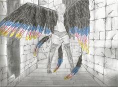 Angel fan art by Miranda