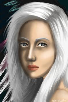 Elena fan art by KatriiKills