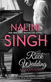 rock kiss series rock wedding nalini singh